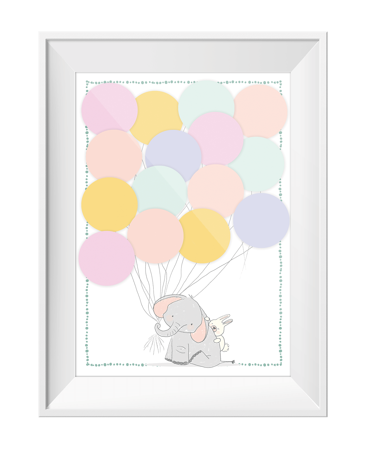 Baby Party Gaesteposter