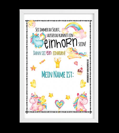 Einhorn-Name