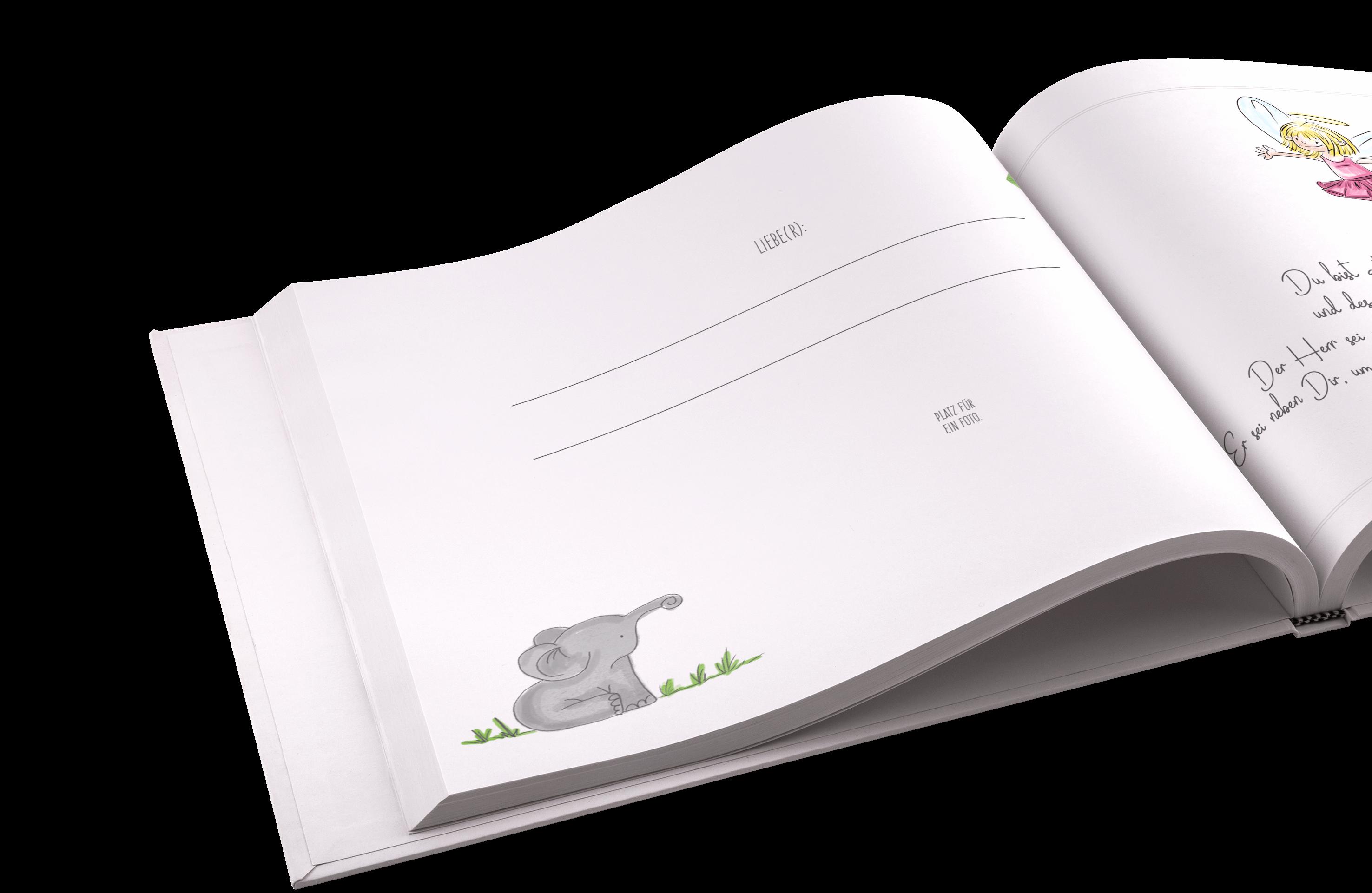 Geschenk Zur Taufe Ein Liebevolles Taufbuch Als Erinnerungsalbum