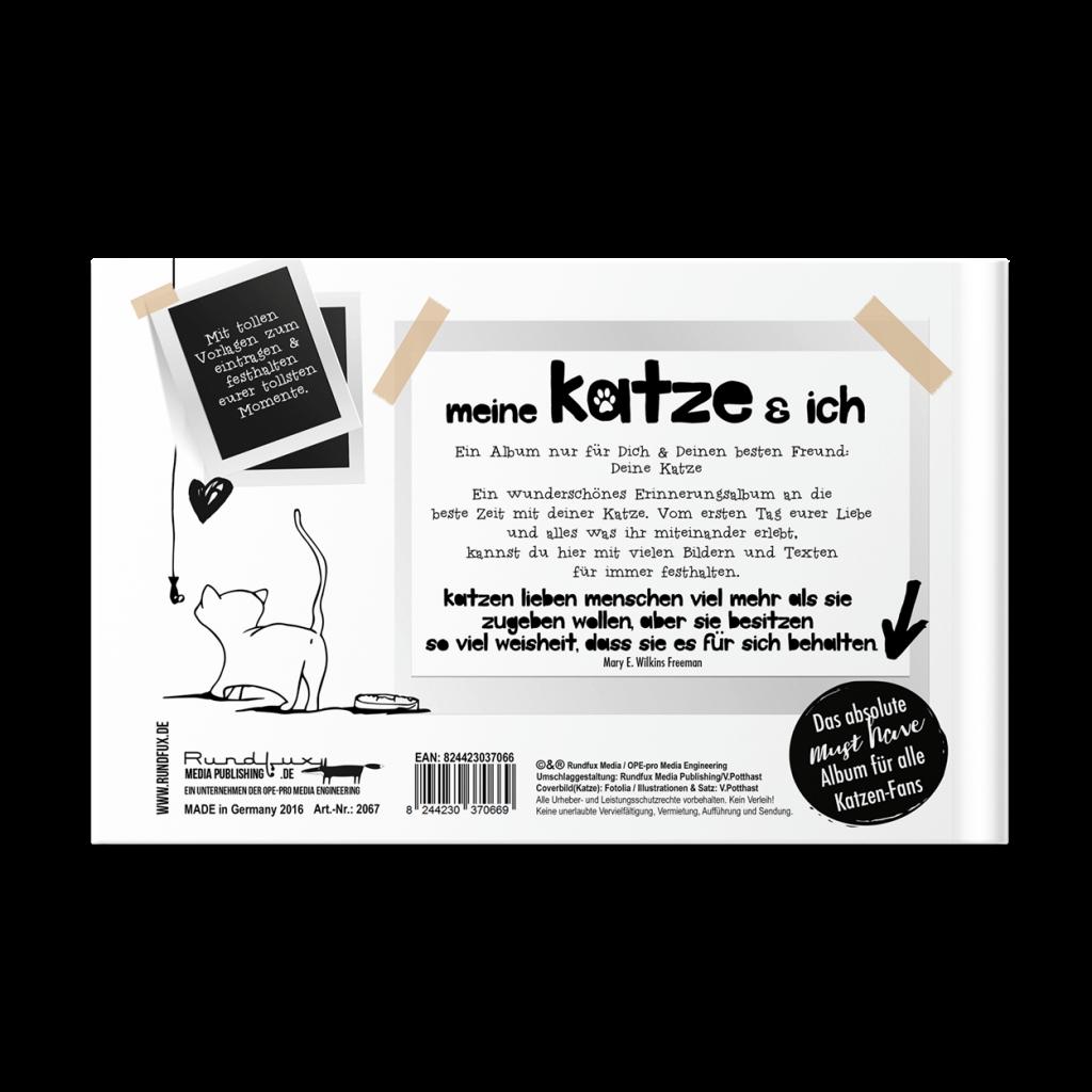Katzenbuch Rueckseite