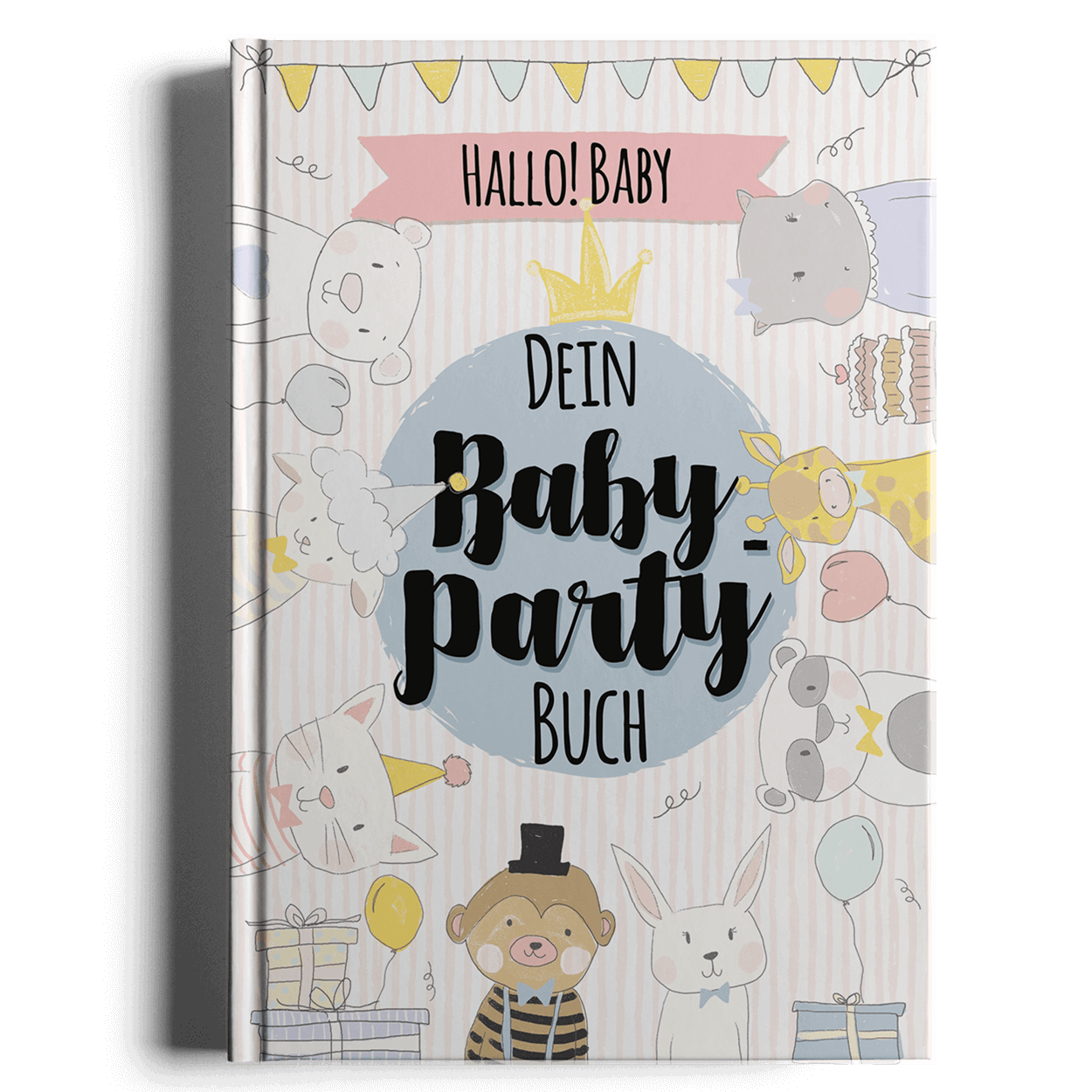 das baby party buch ein einzigartiges geschenk zur babyshower party. Black Bedroom Furniture Sets. Home Design Ideas