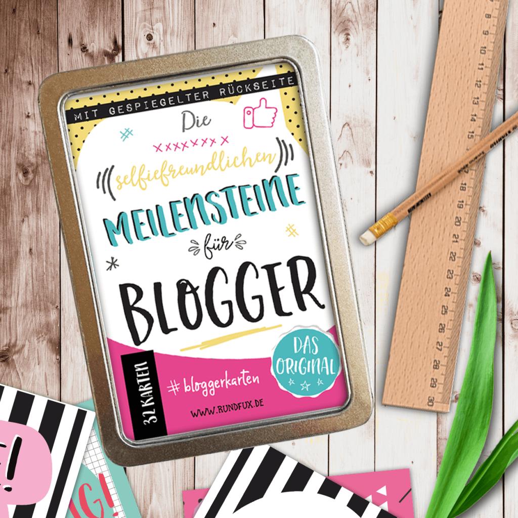 #selfiecards Blogger Karten Bloggerkarten Meilensteine