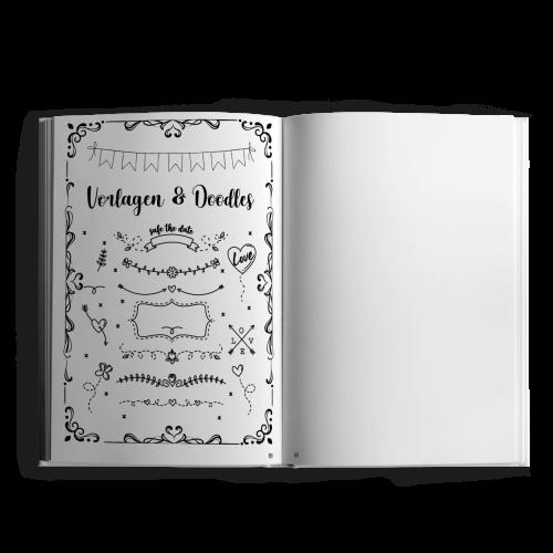 Das große XXL-Handlettering - Doodle Buch Innenseiten 3