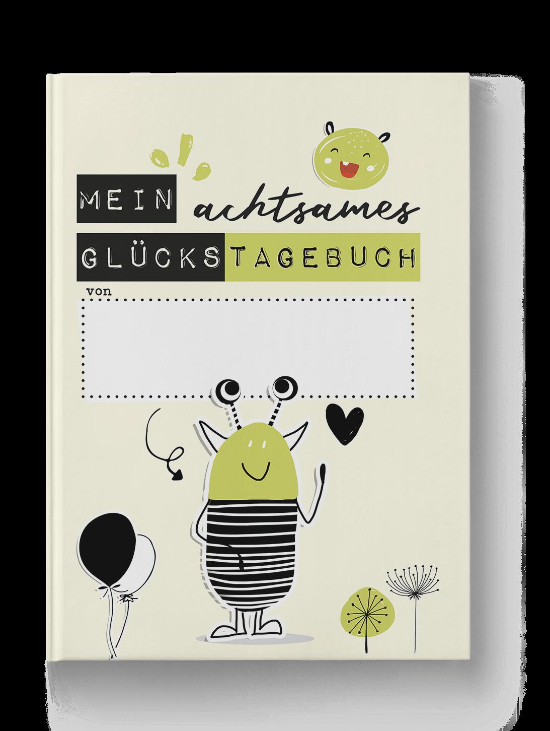 Ein Kleines Glucksbuch Diy Mit Kleiner Vorlage 8