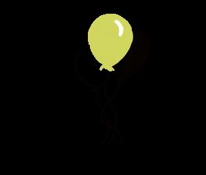 Luftballons Glück