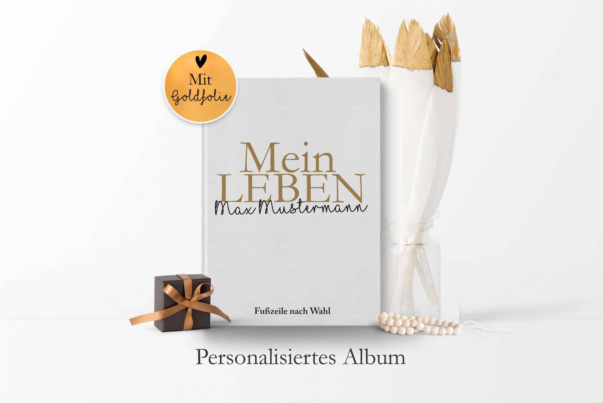 Personalisierte Geschenkbuchserie: PURE