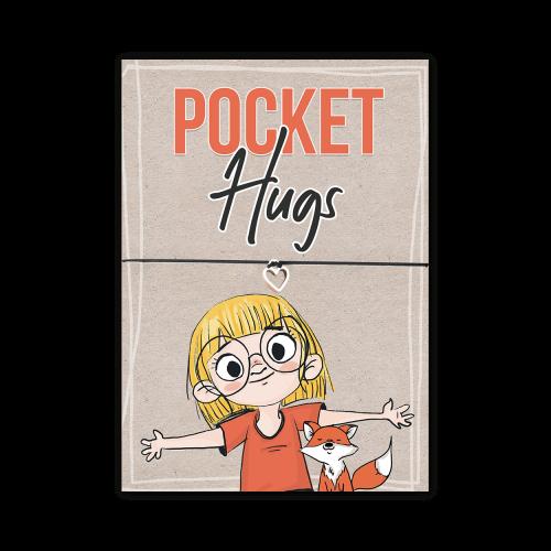 Pocket Hugs: Grußkarte